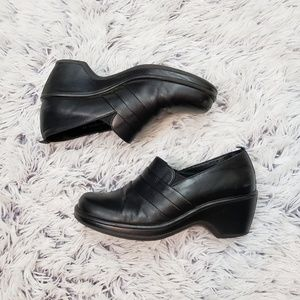 Dansko Black Clogs